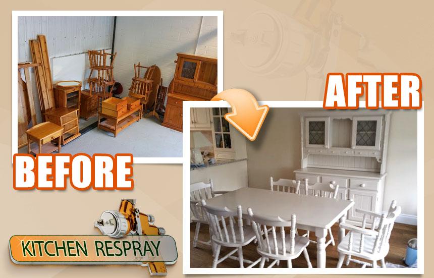 gallery | we spray furniture