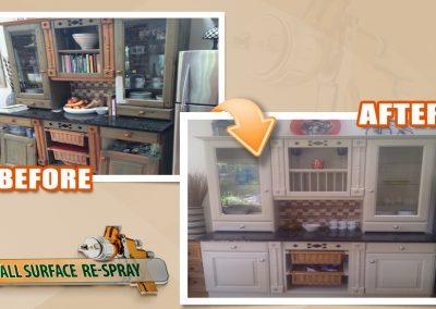 Kitchen dresser | we spray furniture