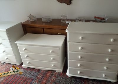 Chest of drawers in Skimming stone