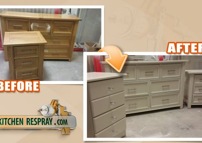 furniture Respray | dressers and sideboards